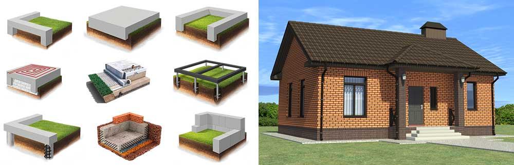 фундамент-для-кирпичных-домов